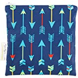 Itzy Ritzy Reusable Snack and Everything Bag, Bold Arrows