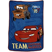 Disney Coral Fleece Blanket, Cars Taking The Race