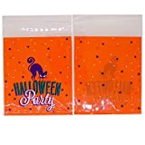 Happy Halloween Party Purple Cat Trick or Treat Candy Cookie Gift Bags Pack of 95