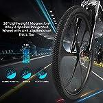 Speedrid-20-26-275bici-elettricacity-ebikeescursionismo-e-bikemountain-e-bike-dotata-di-batteria-agli-ioni-di-litio-36V-10Ah-125Ah-per-uomini-donne-adulti-36V8Ah-26-bianco