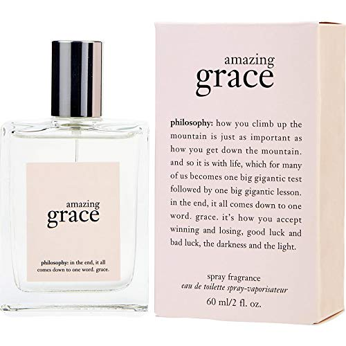 (Philosophy Amazing Grace Eau De Toilette Spray for Women, 2 Ounce)
