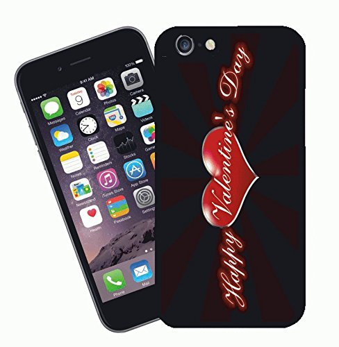 Valentines Day design 02 - This cover will fit Apple model iPhone 7 (not 7 plus) - By Eclipse Gift Ideas