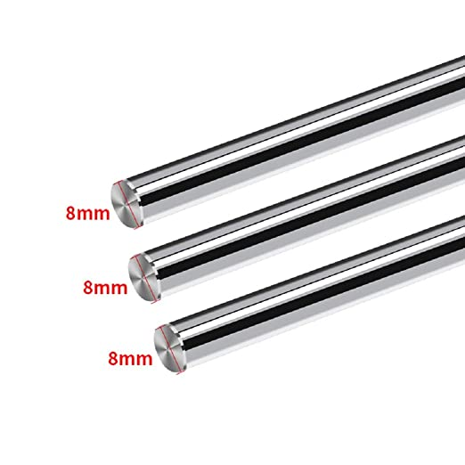 2x CNC linear motion Cylinder shaft rail 25mm rod SHF25 Router Support Bearing
