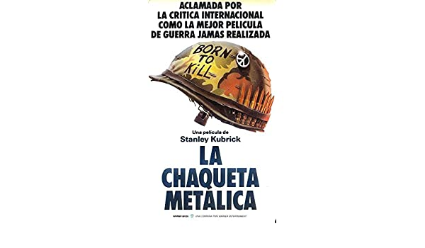 Amazon.com: Full Metal Jacket (Spanish C) POSTER (11
