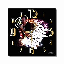 Art time production Linkin Park - Chester Bennington 11.8'' Handmade Unique Wall Clock - Get Unique décor for Home or Office - Best Gift Ideas for Kids, Friends, Parents