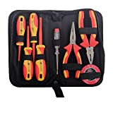 Hand Tool Set, Screwdriver with Toolbox Storage (8 PCS)