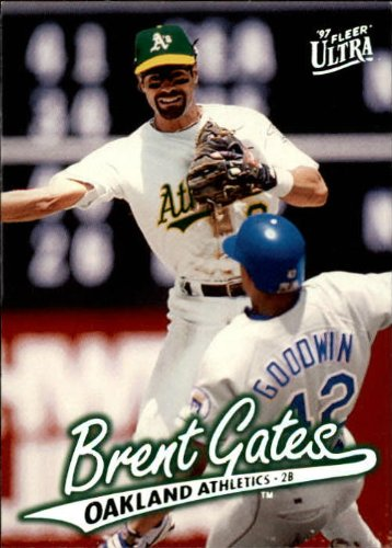 (1997 Ultra Baseball Card #111 Brent Gates)