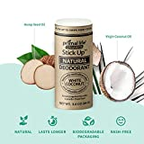 Stick Up Natural Deodorant for Women and Men with