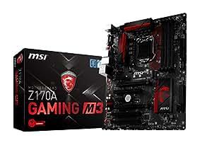 MSI Enthuastic Gaming Intel Z170A  LGA 1151 DDR4 USB 3.1 ATX Motherboard (Z170A Gaming M3)