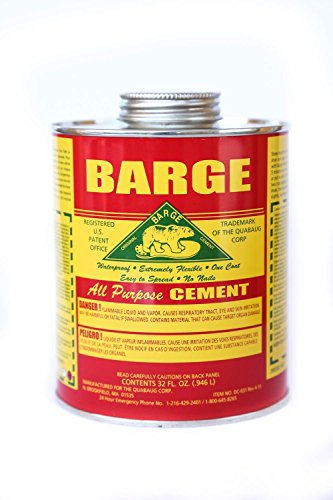 Barge All-purpose Cement Rubber Leather Shoe Waterproof Glue 1 Qt (O.946 - Cement Barge