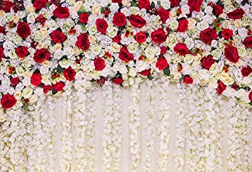 Wedding Anniversary Photography Background White Rose Wall Background Girls Birthday Party Wedding Bridal Shower Anniversary CeremonyStudio Props Backdrop