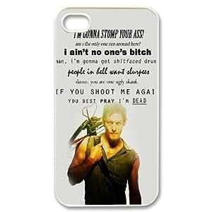 The Walking Dead Unique Design Case for Iphone 4,4S, New Fashion The Walking Dead Case