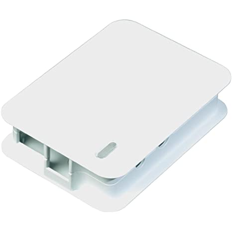 Tek-Berry - Carcasa para Raspberry Pi, color blanco: Amazon ...