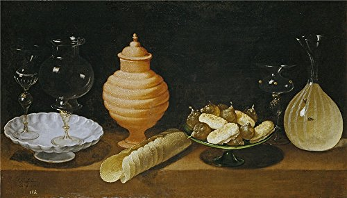 [Oil Painting 'Hamen Y Leon Juan Van Der Still Life With Sweets And Crystal Recipients 1622 ' Printing On High Quality Polyster Canvas , 30 X 53 Inch / 76 X 134 Cm ,the Best Laundry Room Decoration And Home Decoration And Gifts Is This Cheap But High Quality Art Decorative Art Decorative Canvas] (Museum Of Country Life And Costume)