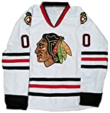 Clark Griswold #00 Christmas Movie Hockey Jersey (X-Large)