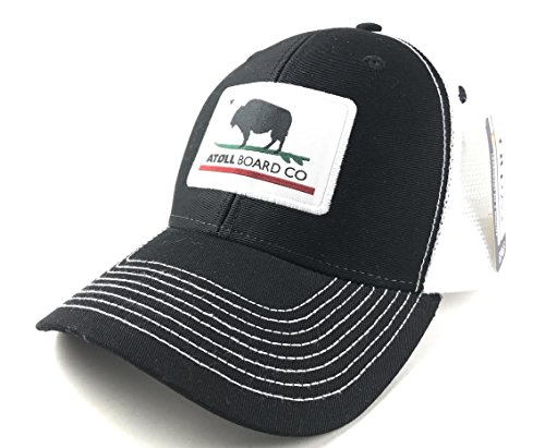 Atoll Board Company's Best Fitting Mesh Trucker Baseball Hat Atoll ISUP Board Co