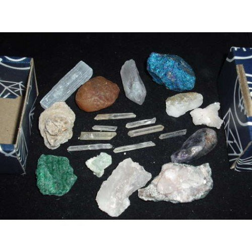 Small Value Crystal Box Set Mixed Gemstones Gifts and Guidance 629735