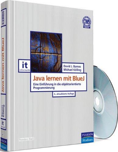 Java lernen mit BlueJ: Eine Einführung in die objektorientierte Programmierung (Pearson Studium - IT) Gebundenes Buch – 1. Februar 2009 David J. Barnes Michael Kölling 3868940014 Programmiersprachen