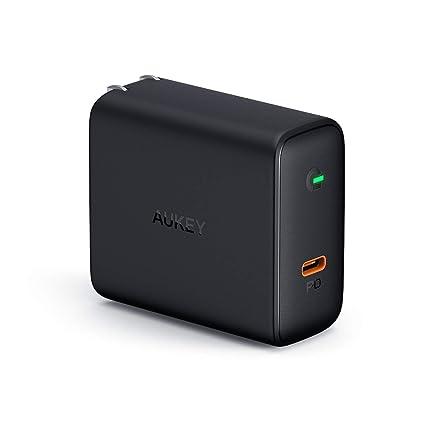 Amazon.com: Aukey - Cargador USB C con detección dinámica ...