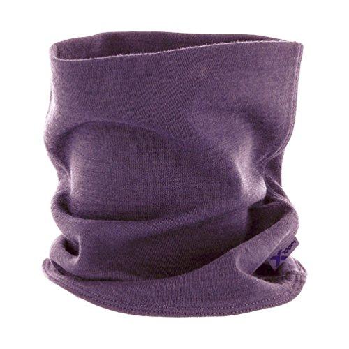 (Woolx Unisex Merino Wool Neck Gaiter To Keep Neck & Face Warm , Light Orchid, One Size)