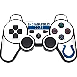 Skinit NFL Indianapolis Colts PS3 Dual Shock wireless controller Skin - Indianapolis Colts White Performance Series Design - Ultra Thin, Lightweight Vinyl Decal Protection
