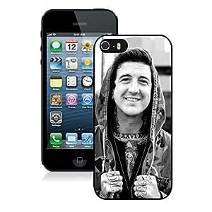 Austin Carlile Black iPhone 5s Hard Plastic Phone Cover Case
