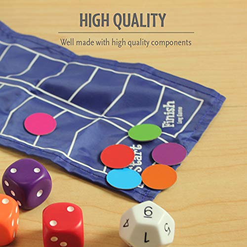 Think Fun Math Dice Junior Game for Boys and Girls Age 6 and Up - Teachers Favorite and Toy of the Year Nominee
