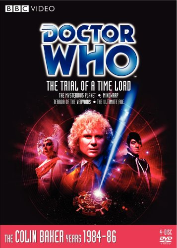 Amazon Doctor Who The Trial Of A Time Lord Colin Baker Nicola Bryant Lynda Bellingham Michael Jayston Nicholas Mallett Ron Jones Chris Clough