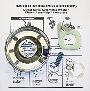 Amazon Com 3951311 Washer Clutch Kit For Whirlpool