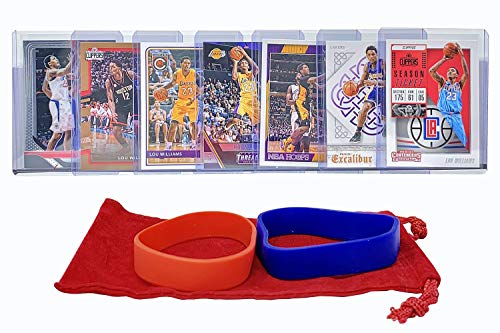 Lou Williams Basketball Cards Assorted (7) Bundle - Los Angeles Clippers Trading Card Gift Pack ()