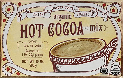 Chocolate Organic Chocolate Hot (Trader Joe's Organic Hot Cocoa Mix 10 oz Instant Packets (2 Boxes))