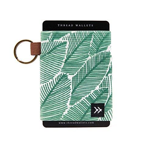 Thread Wallets - Slim Minimalist Wallet - Front Pocket Credit Card Holder for Women (One Size, Kai W) by Thread Wallets