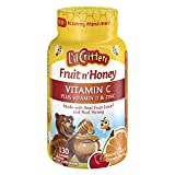 L'il Critters Fruit N' Honey Bee Immune Super C Plus Booster, 130 Count For Sale