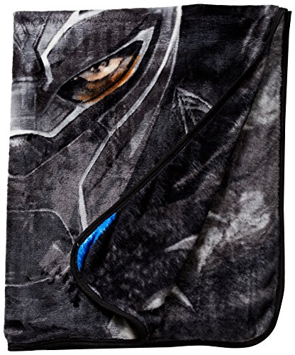 Panther Face (Black Panther Face Silky Soft Throw Blanket 40