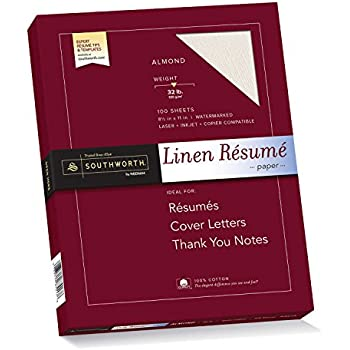 southworth 100 cotton rsum paper 85 x 11 32 lb - Resume Paper