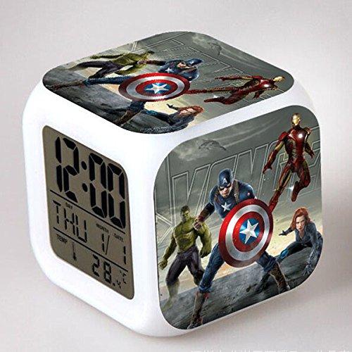 marvel alarm clock - 9