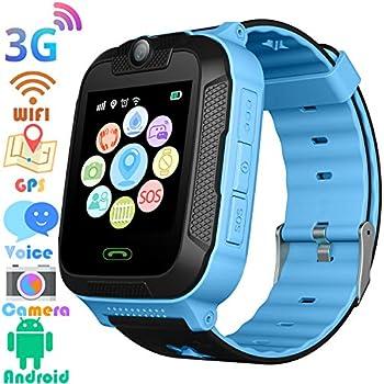 Amazon.com: HelloPet Q90 GPS Kids Smart Watch, GPS GSM ...