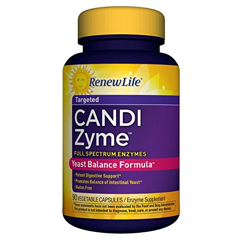 Renew Life - CandiZyme - Yeast Balance Formula - digestive support -  intestinal balance - 90 vegetable - District At The Target