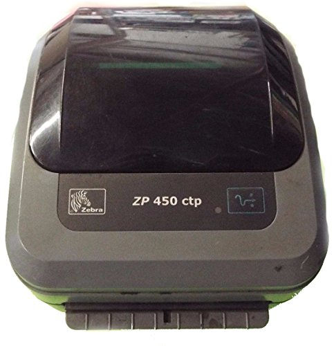 Zebra Technologies ZP-450 CTP Thermal Label Printer, Fixed Width