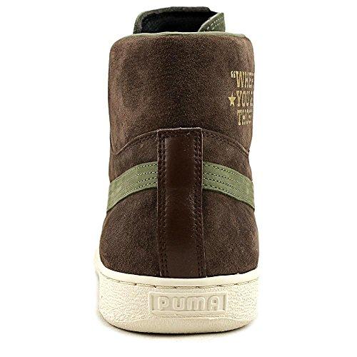 Suede Sneaker X Mid Burnt High Mens Chestnut Fashion Olive PUMA Gold Bobbito Top w1q8InnBp
