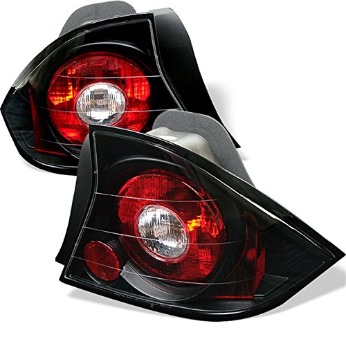 Honda Civic 2 Door Tail (Spyder Auto ALT-YD-HC01-2D-BK Honda Civic 2-Door Black Altezza Tail Light)