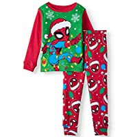 Marvel Spider-Man Little Boys Toddler Christmas Pajama Set