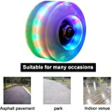 florybercea Roller Skate Wheels Luminous Light