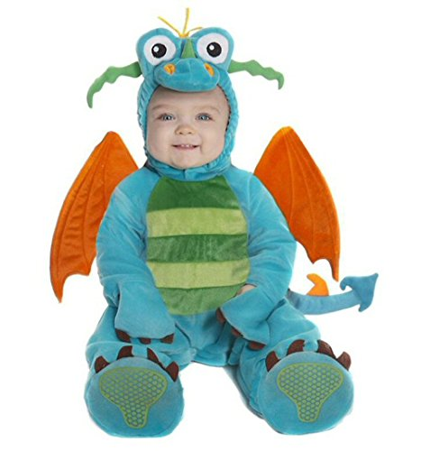 Darlin Dragon Baby Halloween Costume 6-12 Months -