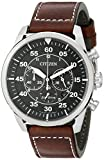 Citizen Men's CA4210-24E Stainless Steel Eco-Drive Watch with Brown Band