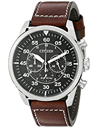 Citizen Men's Avion CA4210-24E Wrist Watches, Black Dial