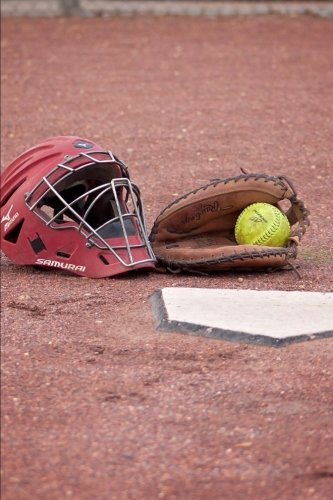 Softball Glove, Ball, and Catcher's Mask Journal: 150 Page Lined Notebook/Diary