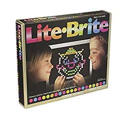 Magic Screen Set Pegs Templates Storage Tray Light Bright By Lite-brite