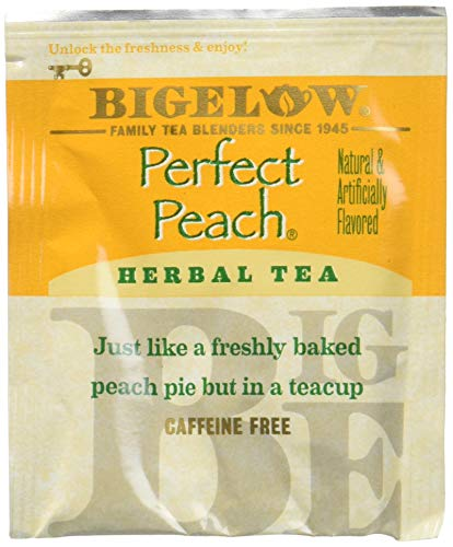 Bigelow Perfect Peach Tea Bags - 20 ct - 3 pk