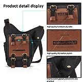FANDARE Vintage Sling Bag Messenger Bag Shoulder